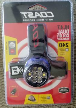 hl47 dual color led headlamp multi beam