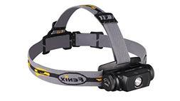 Fenix Flashlights HL55 900 Lumens Headlamp, Black