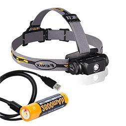 Fenix HL55 Rechargeable 900 Lumens Headlamp, Fenix Rechargea