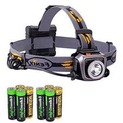 Fenix HP15 UE 900 Lumen long throw CREE LED Headlamp  with F