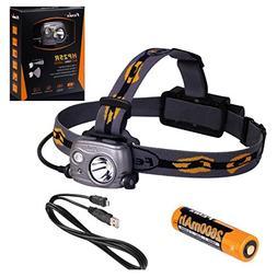 Fenix HP25R Rechargeable LED Flashlight 1000 Lumen Headlamp,