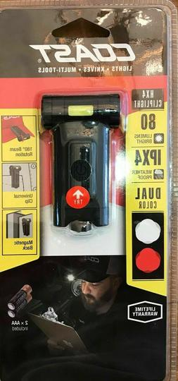 hx4 80 lumen dual color led clip