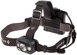 Black Diamond Icon Headlamp Black & Cooling Towel Bundle