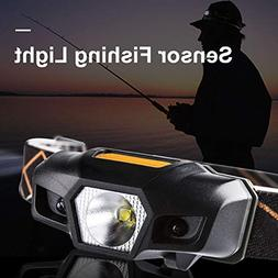 BeesClover Induction LED Headlamp Waterproof Mini Lightweigh