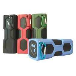 IPX4 Waterproof Shockproof Bluetooth Speaker Portable Bass S