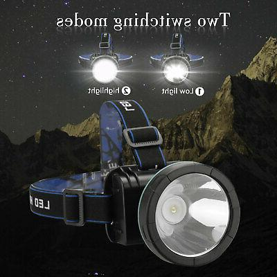 Super LED Rechargeable Headlight Torch Lumens for