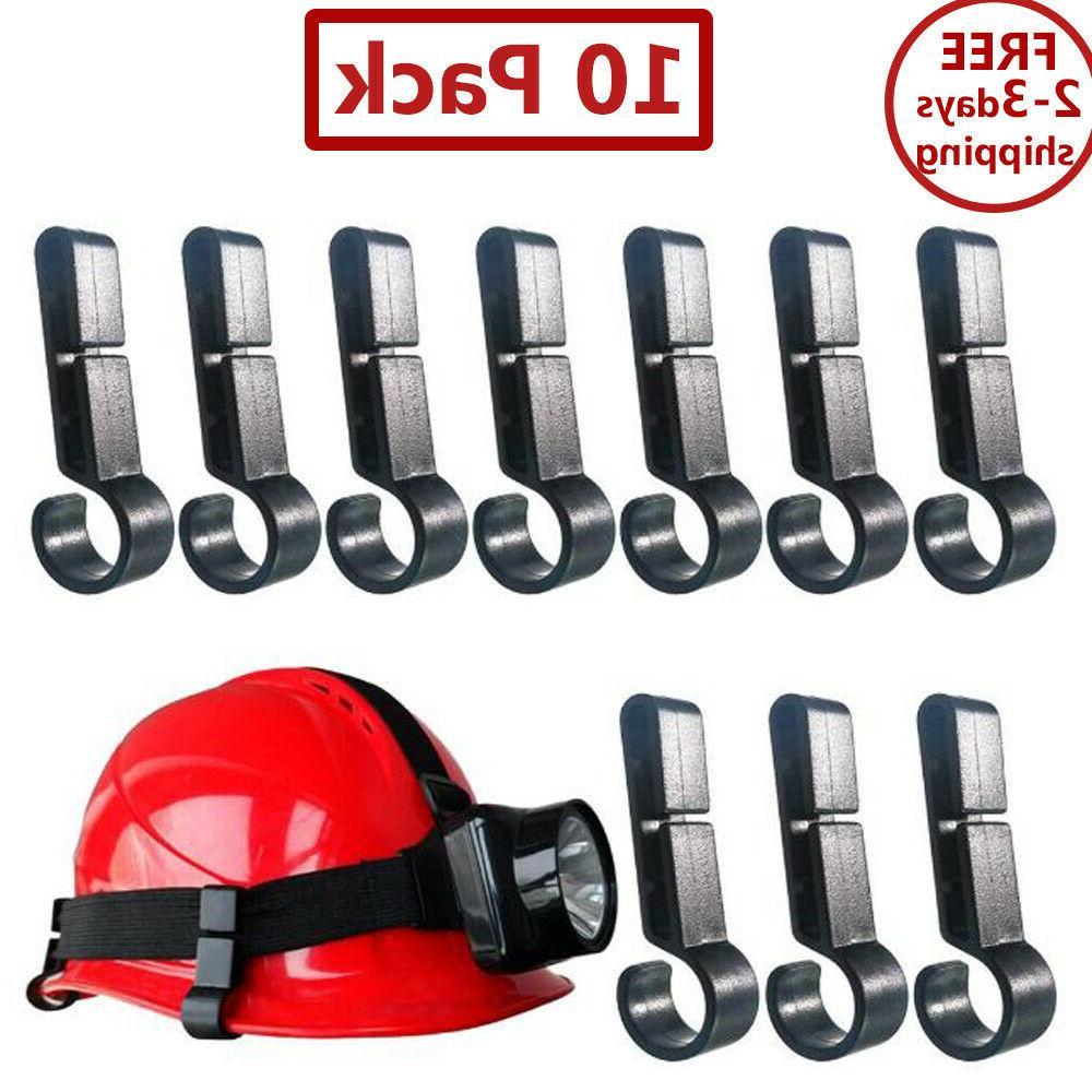 10 count of home tool helmet clips