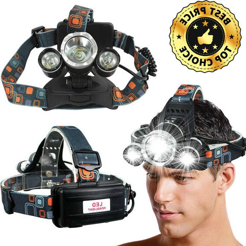 1000000LM Headlamp with Zoom Extra Hunting Light