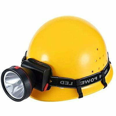 12 Pack Flashlights Headlamps Helmet Hooks Hardhat Clips Safety