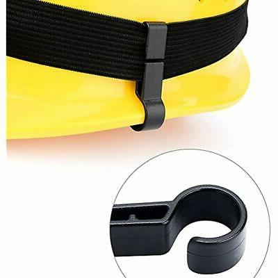 12 Hands Flashlights & Headlamps Hooks Clips For Safety