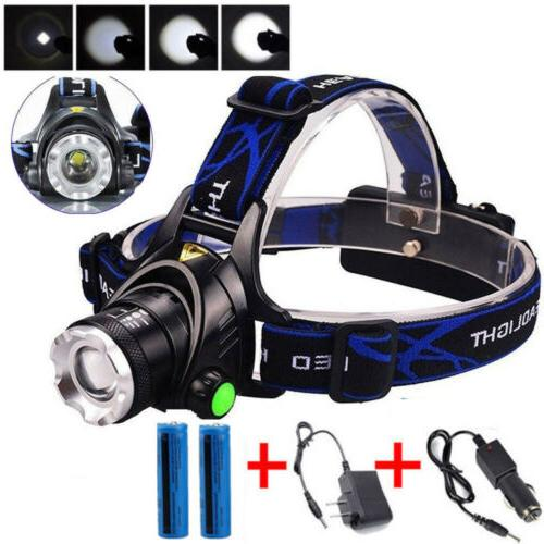 LED Headlamp Charger+18650