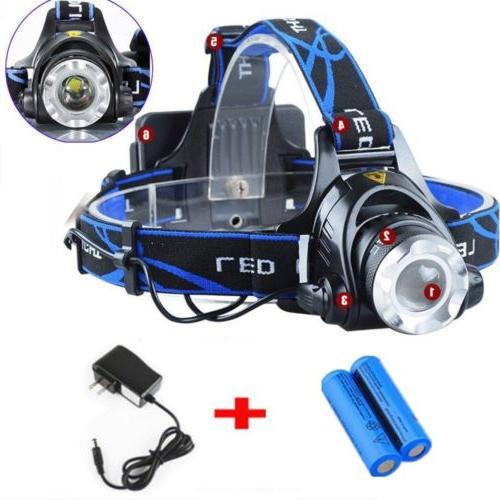 200000LM Rechargeable LED Tactical 18650 Head
