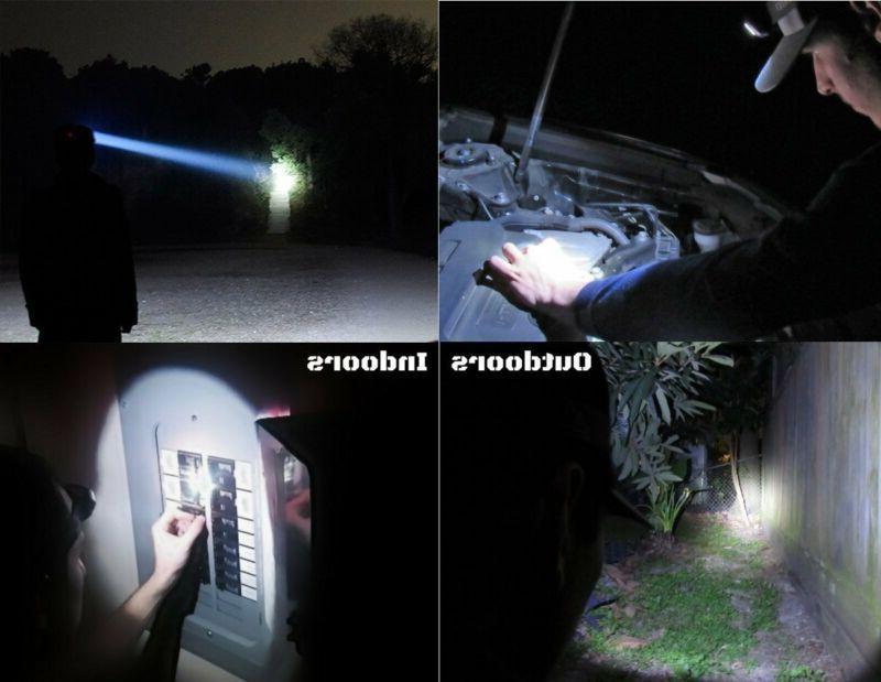 350000LM 5X Rechargeable Super Headlight Flashlight