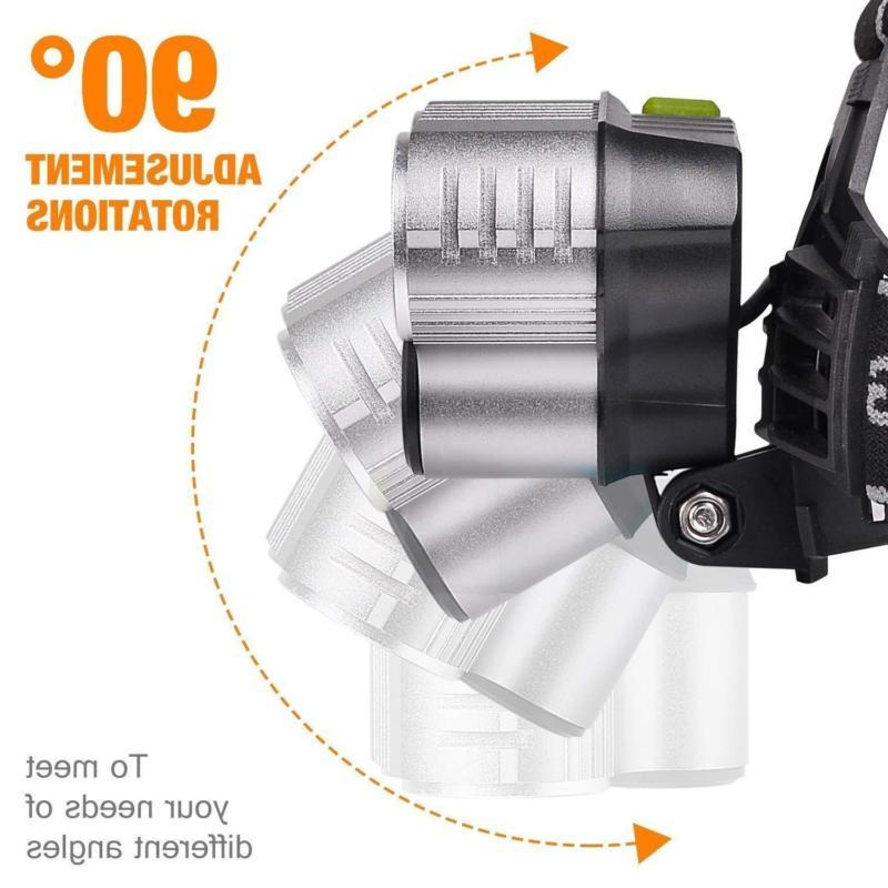 350000LM Rechargeable Super Bright Headlight
