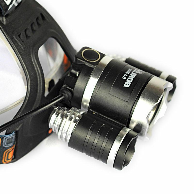 BORUiT CREE Headlight Charger