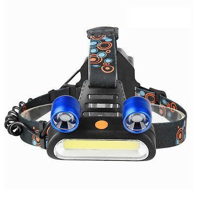 1800LM 2X LED Light Flashlight Torch Lamp USA