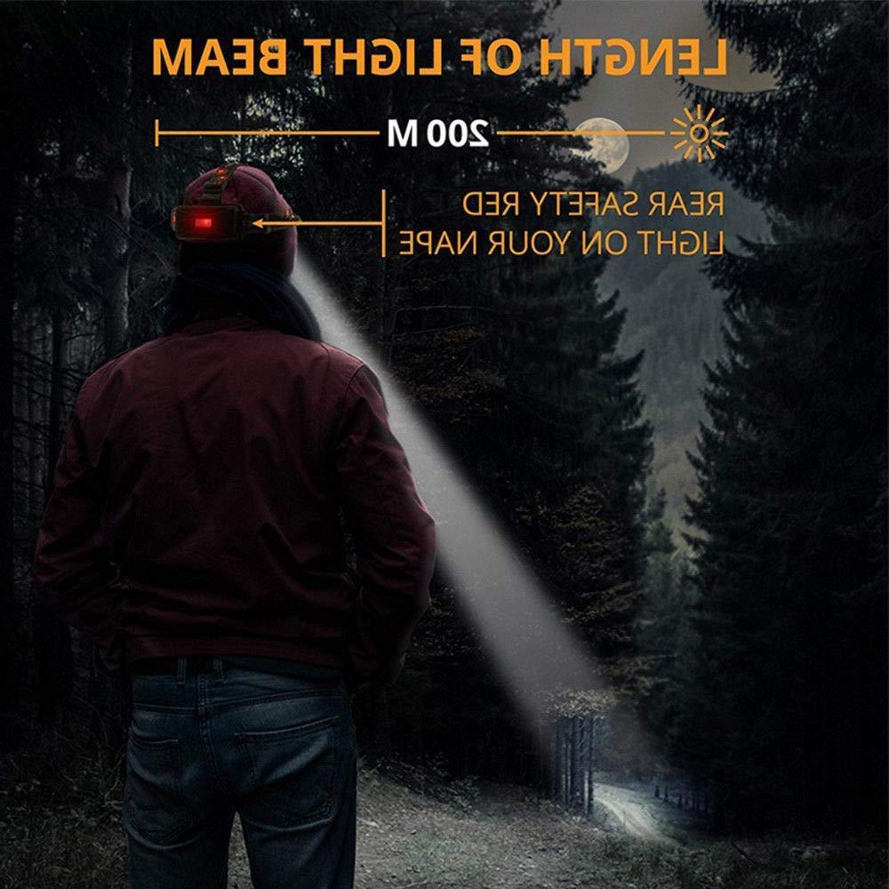 T6 LED <font><b>Headlamp</b></font> 13000LM Mode Waterproof <font><b>Hands</b></font>-<font><b>free</b></font> Headlight Torch <font><b>Flashlight</b></font> for Biking Camping