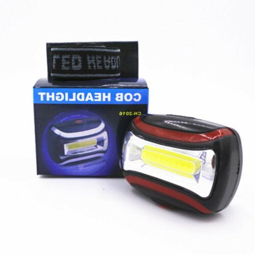 2.1oz Adjustable Torch Light 3 Modes LED Headlamp USA