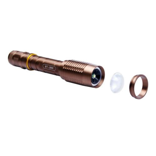 2 Flashlight Torch + 18650 Battery + Charger !