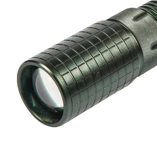 2 Rechargeable Led Flashlight Torch + Battery + Charger !