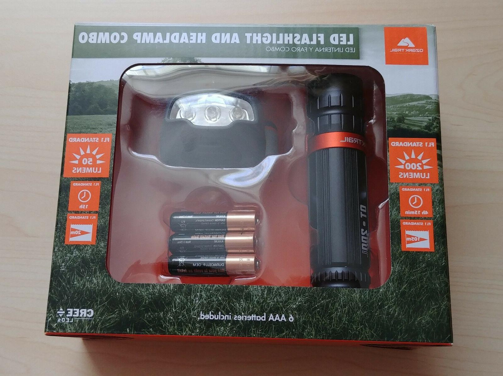 200 lumens cree led flashlight and 50l