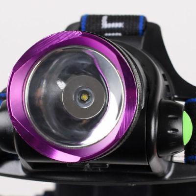 2000LM Headlamp Hands Flashlight Headband Lamp Light Set For