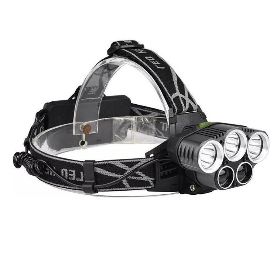 250000LM T6 Headlamp Head Flashlight