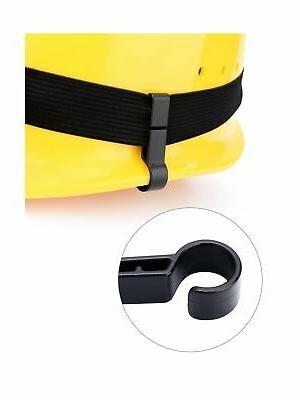 Hestya 30 Pack Headlamp Clips for Black