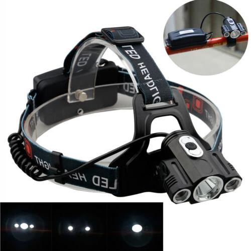 35000Lumens Front Headlamp Rechargeable
