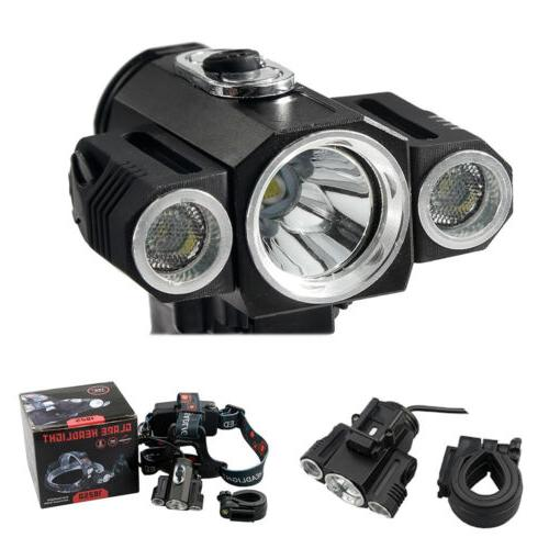 35000Lumens Bike Bicycle Front LED Rechargeable