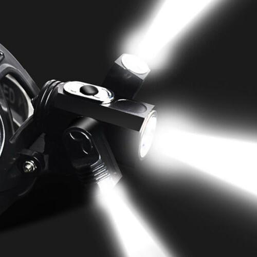 35000Lumens Bicycle Front Rechargeable