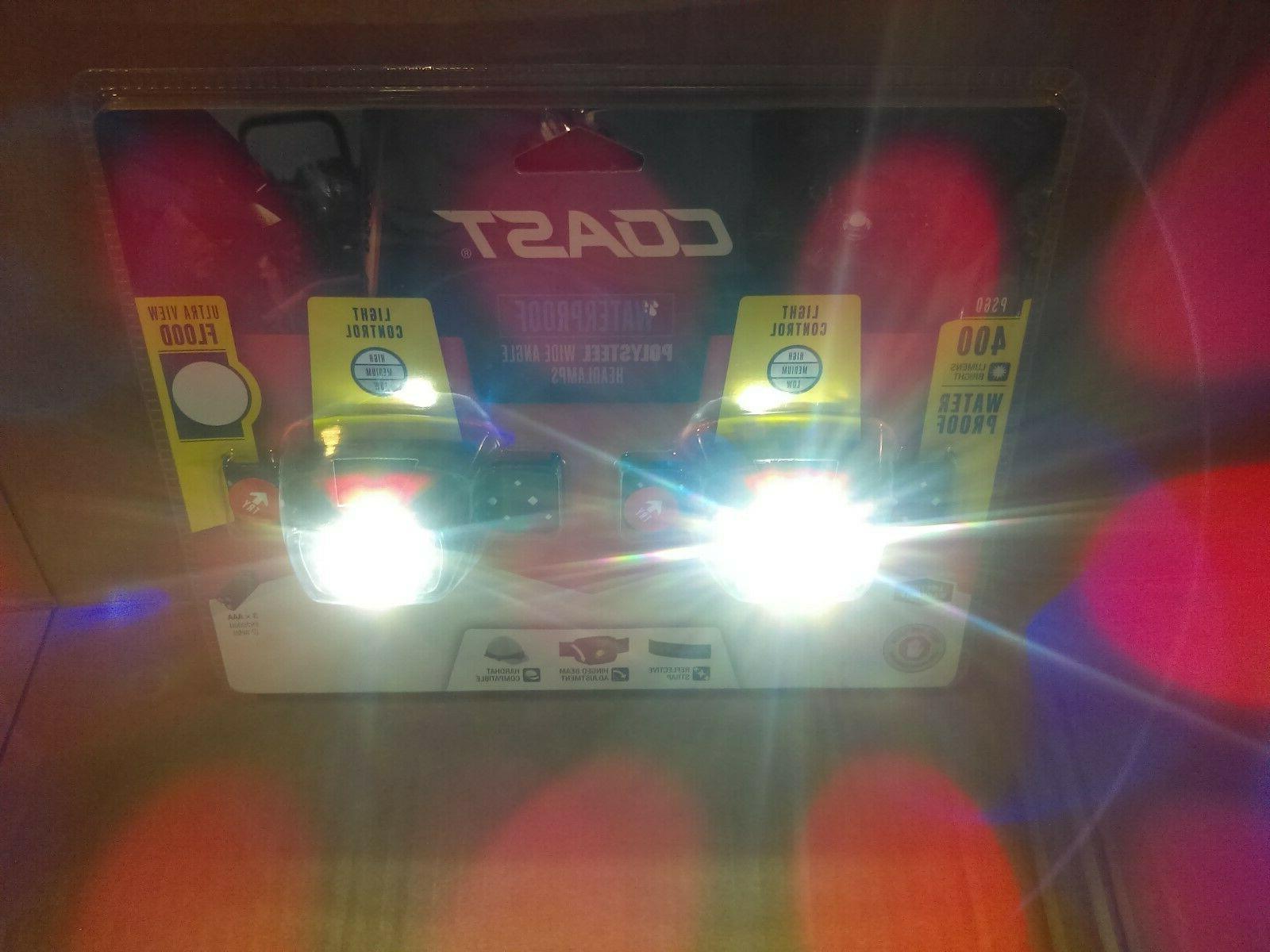 Coast 400 Proof Flood LED Headlamp