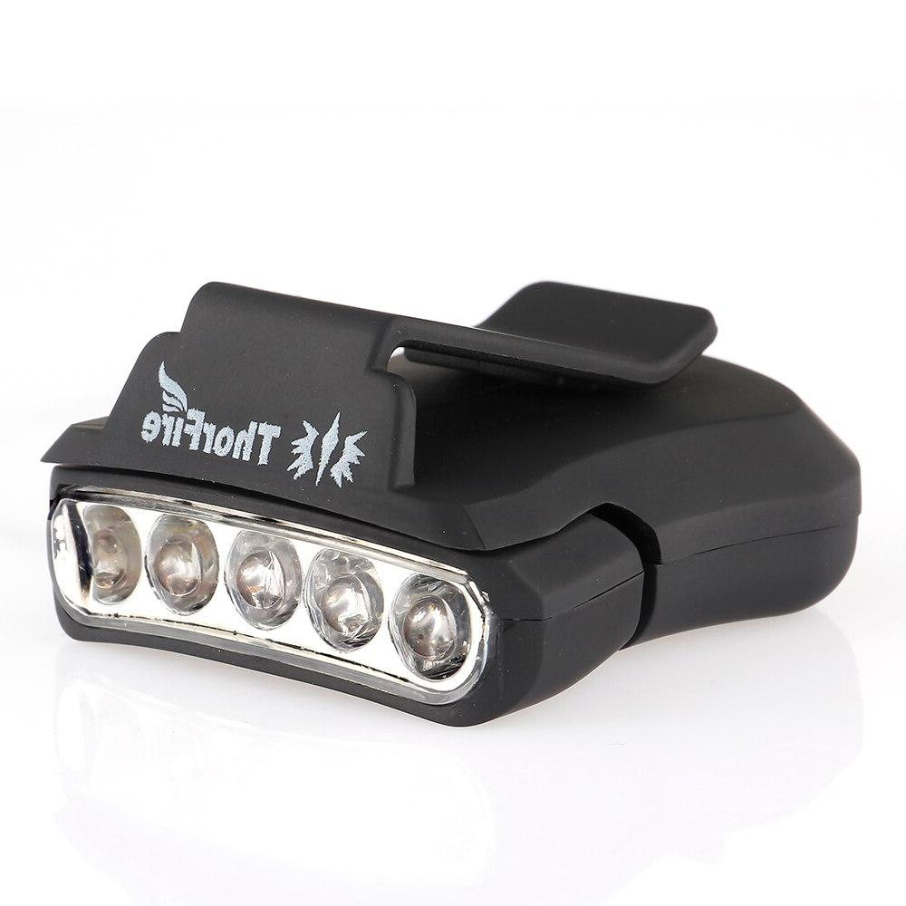 ThorFire LED <font><b>Headlamp</b></font> Cap Light 90 Degree Rotatable Hat Hands Free Bright Head Lamp Lanterna