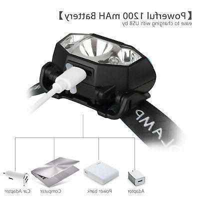 5000LM LED Headlamp Motion Lamp Headlight Flashlight