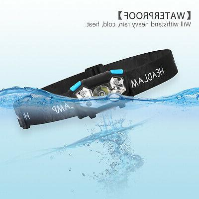 5000LM LED Headlamp Rechargeable Headlight Flashlight US