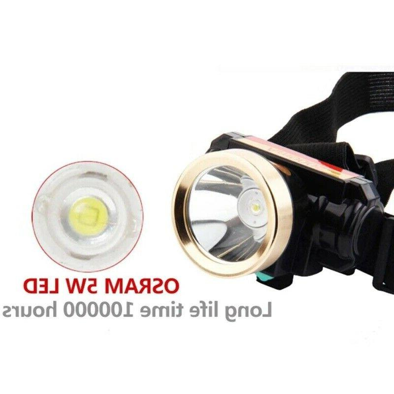 5000LM Rechargeable Headlight Charger