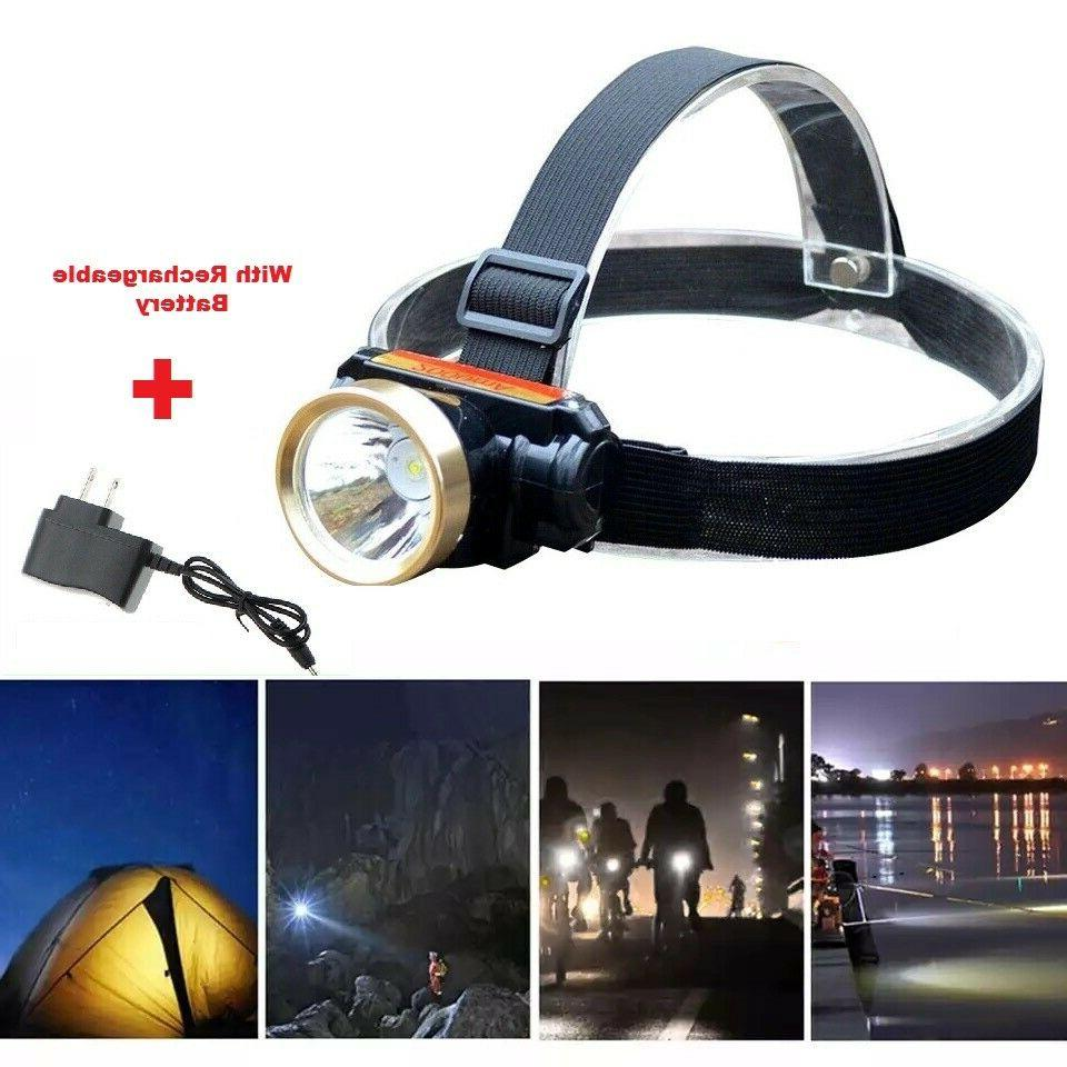 5000lm led rechargeable waterproof headlight head lamp