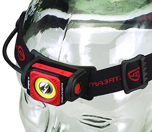 Streamlight 51064 Headlamp, Black/Red, Boxed