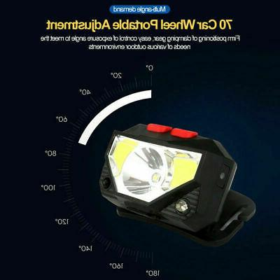 5X 85000Lm LED Headlamp USB Rechargeable Head
