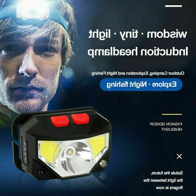 LED Headlamp Rechargeable Head Lamp Torch