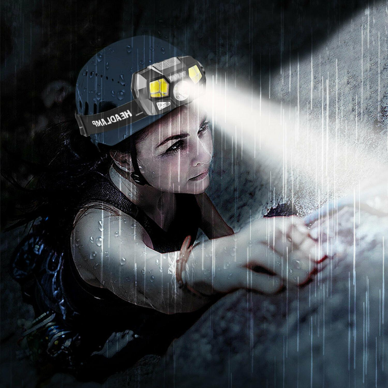 LED Headlamp Headlight Camping Waterproof