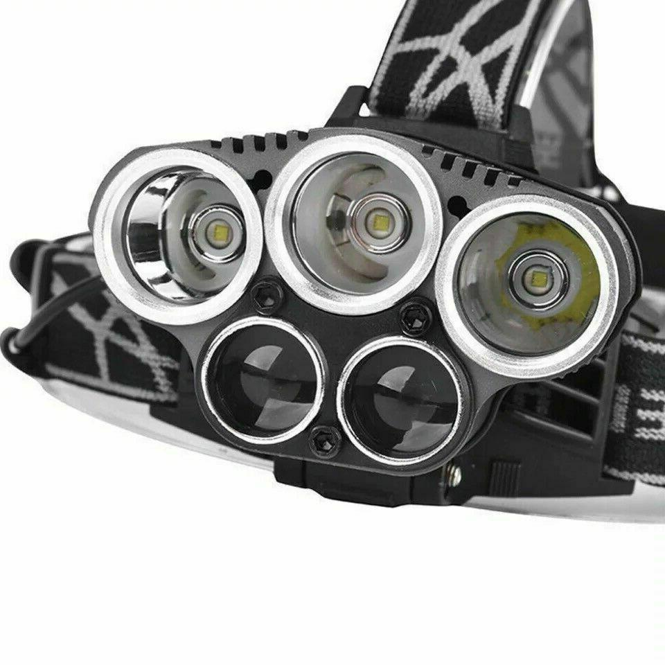 250000LM Headlamp Flashlight