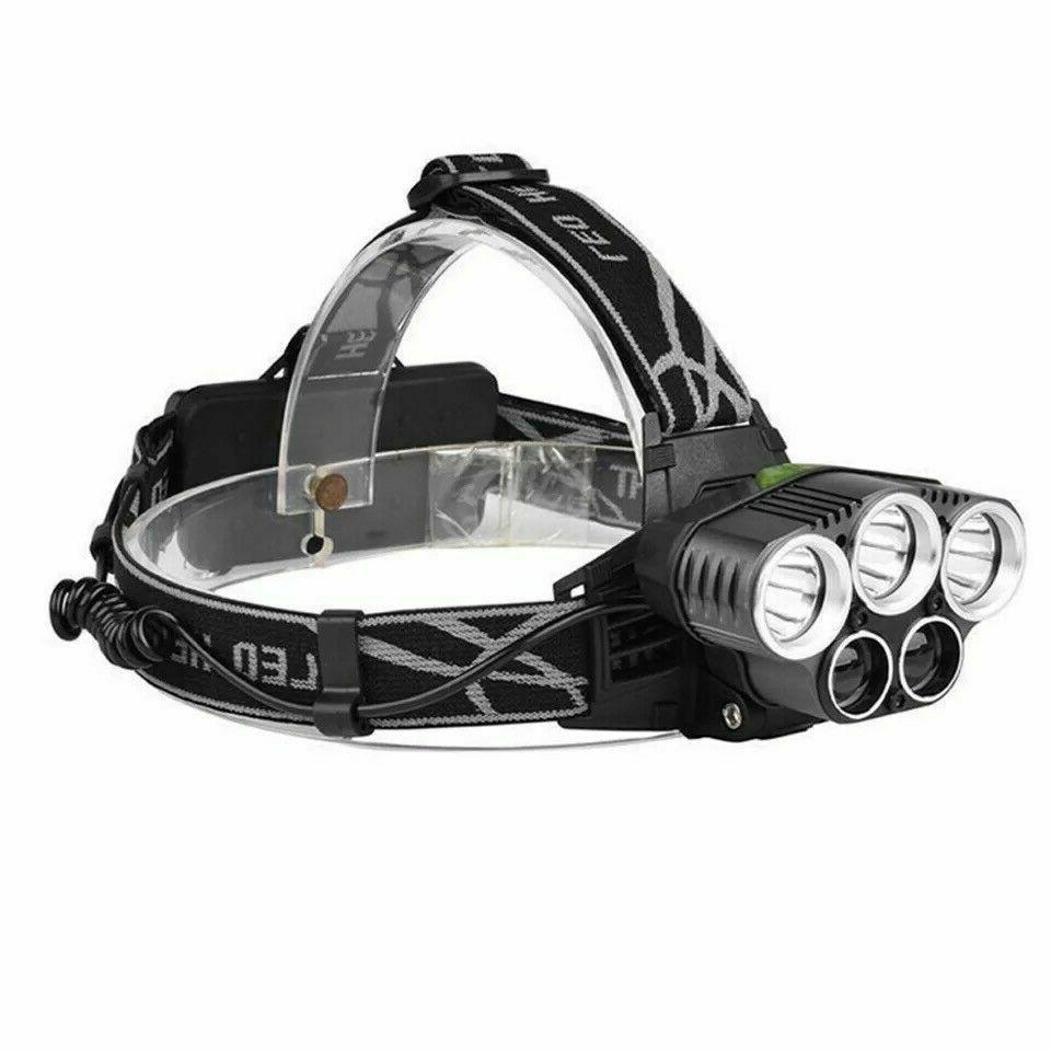 250000LM Headlamp Flashlight Torch Lamp