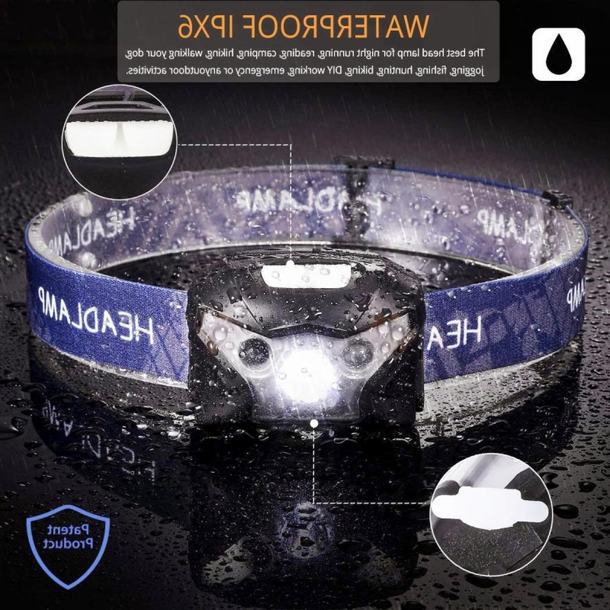 60000lm Sensor lamp headlight Modes