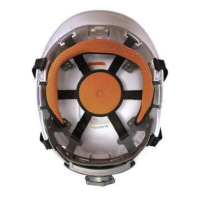 Klein Tools White Vented Helmet