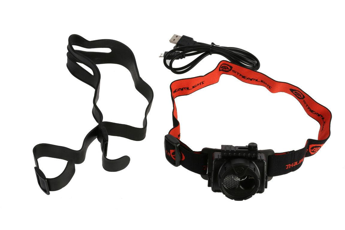 61601 double clutch rechargeable headlamp