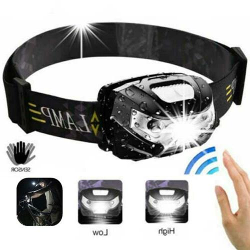 990000LM Rechargeable 18650 Headlamp COB