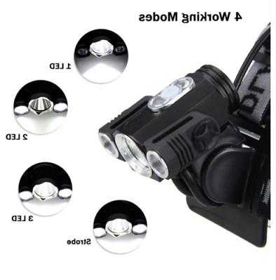 900000LM X Rechargeable Flashlight Head