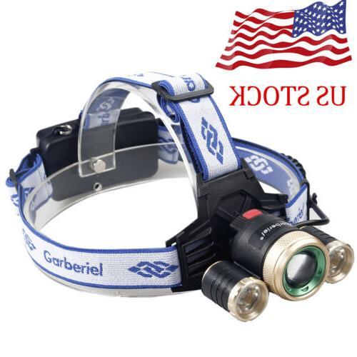900000LM Rechargeable Headlamp Headlight Flashlight