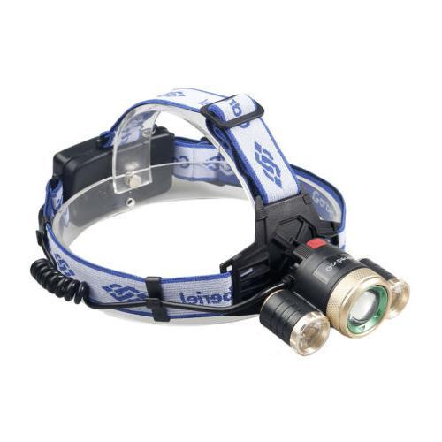 900000LM Rechargeable Headlamp Flashlight